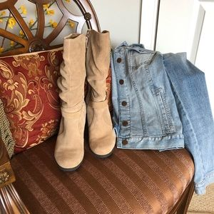 Kelly & Katie Tan Christy Boot